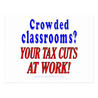Crowded classrooms postcards