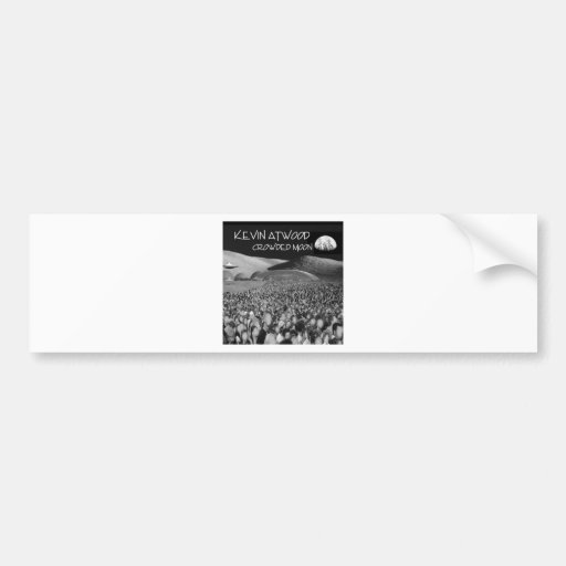 Crowded Moon Products Bumper Stickers