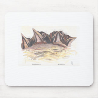 Crowded Nest Mouse Pad
