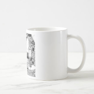 Crowded Room Coffee Mugs