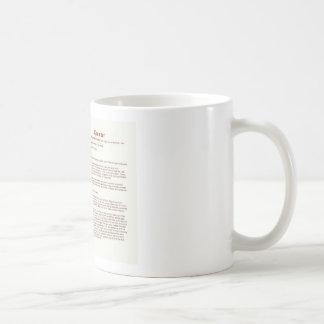 Crowder (significado) taza de café