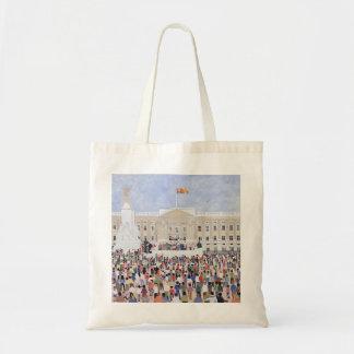 Crowds around the Palace 1995 Tote Bag