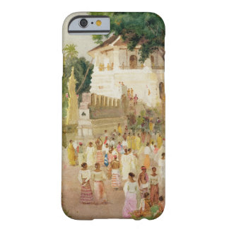 Crowds at a Monument in India, 1895 (w/c & pencil Barely There iPhone 6 Case