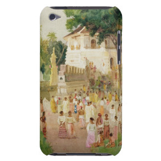 Crowds at a Monument in India, 1895 (w/c & pencil iPod Case-Mate Case