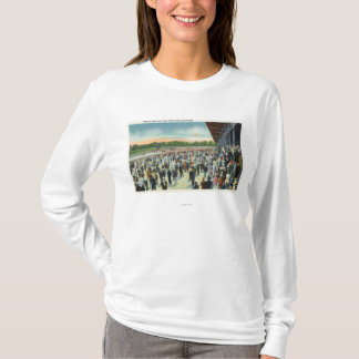 Crowds at Saratoga Race Track & Clubhouse T-Shirt