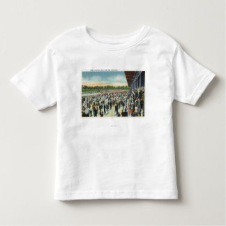 Crowds at Saratoga Race Track & Clubhouse Toddler T-shirt