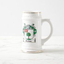 Crowe Family Crest Beer Stein
