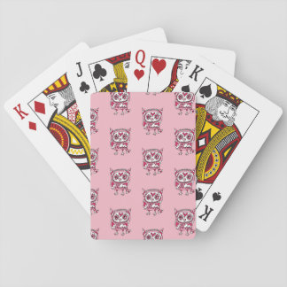 Crowe pin Khufu of three hearts 2 Playing Cards