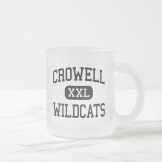 Crowell - Wildcats - High School - Crowell Texas Coffee Mug