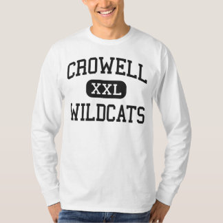 Crowell - Wildcats - High School - Crowell Texas Shirt