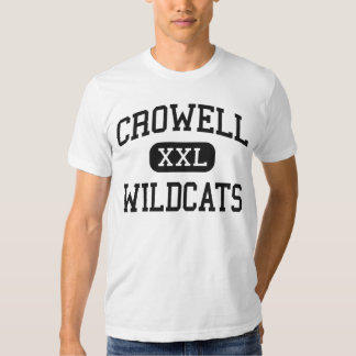 Crowell - Wildcats - High School - Crowell Texas T Shirt