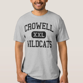 Crowell - Wildcats - High School - Crowell Texas T-shirt