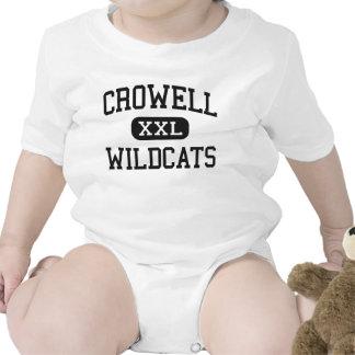 Crowell - Wildcats - High School - Crowell Texas T Shirt