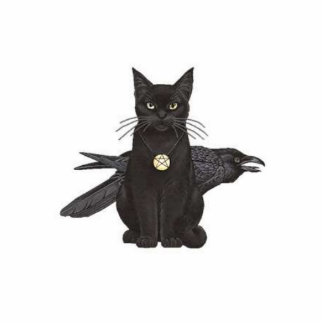 Crowfeather Standing Photo Sculpture