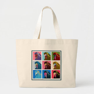 Crowhol Large Tote Bag
