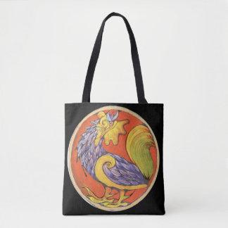 Crowing gamecock - Wild animal Bag