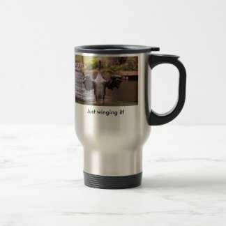 Crowing Goose Travel Mug