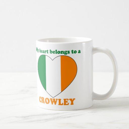 Crowley Classic White Coffee Mug