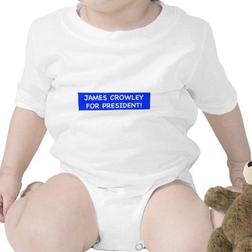 crowley de james para el presidente trajes de bebé
