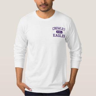 Crowley - Eagles - High School - Crowley Texas T-shirt