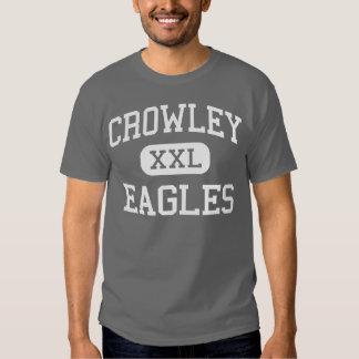 Crowley - Eagles - High School - Crowley Texas Tee Shirts