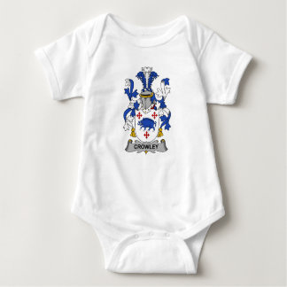 Crowley Family Crest Baby Bodysuit