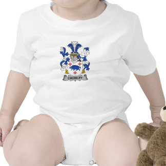 Crowley Family Crest Baby Creeper
