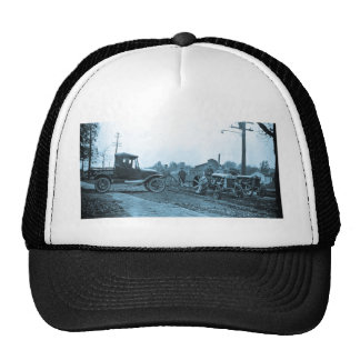 Crowley Ford Vintage Truck and Tractors 1920s Mesh Hats