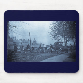 Crowley Ford Vintage Truck and Tractors 1920s Mouse Pad
