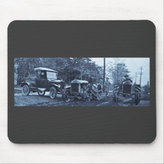 Crowley Ford Vintage Truck and Tractors ca. 1920s Mouse Pad