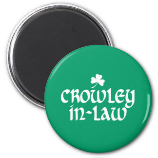 Crowley-in-law Magnet
