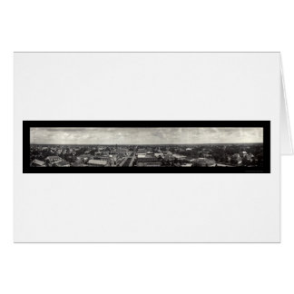 Crowley LA Panoramic Photo 1921 Card
