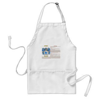 Crowley (meaning) adult apron