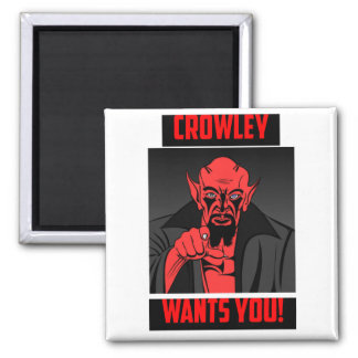 Crowley Wants You! Magnet