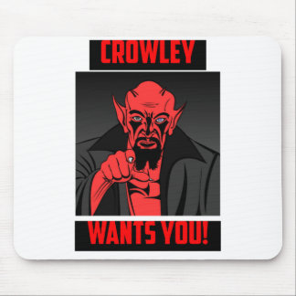 Crowley Wants You! Mouse Pad