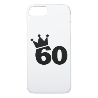 Crown 60th birthday iPhone 7 case