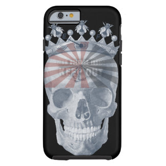 Crown Anchor Bees High Voltage Keep Out Skull Tough iPhone 6 Case