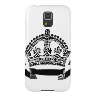 Crown and Scroll Symbol Case For Galaxy S5