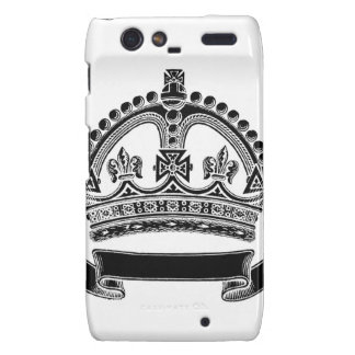 Crown and Scroll Symbol Droid RAZR Covers