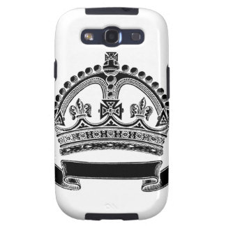 Crown and Scroll Symbol Galaxy SIII Covers