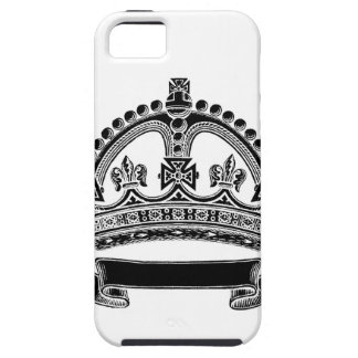 Crown and Scroll Symbol iPhone 5 Case