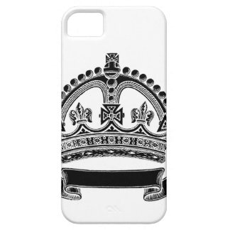 Crown and Scroll Symbol iPhone 5 Covers