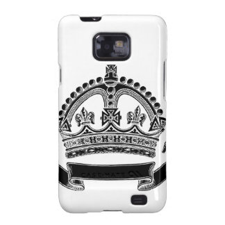 Crown and Scroll Symbol Samsung Galaxy S2 Cases