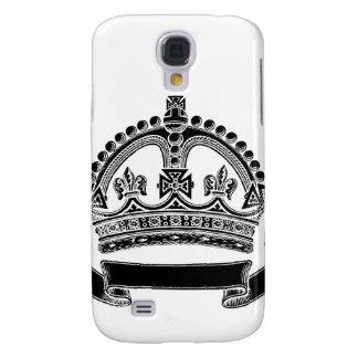 Crown and Scroll Symbol Samsung Galaxy S4 Cases
