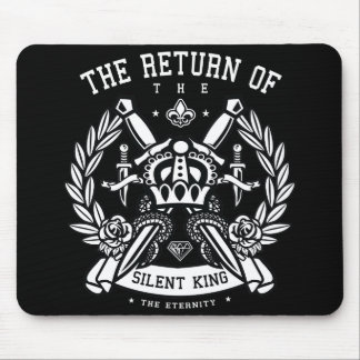 Crown and Swords The Return of the Silent King Mouse Pad