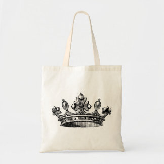 Crown Budget Tote Bag