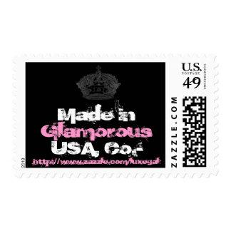 Crown Black/Pink/White Postage