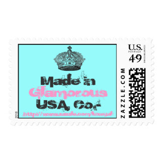 Crown Blue/Pink/Black Postage
