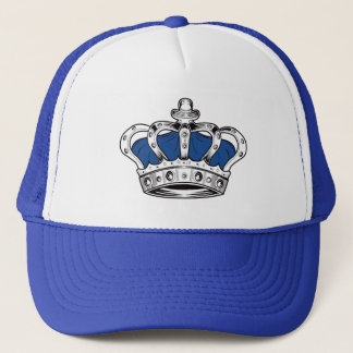 Crown - Blue Trucker Hat