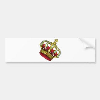 Crown Bumper Sticker